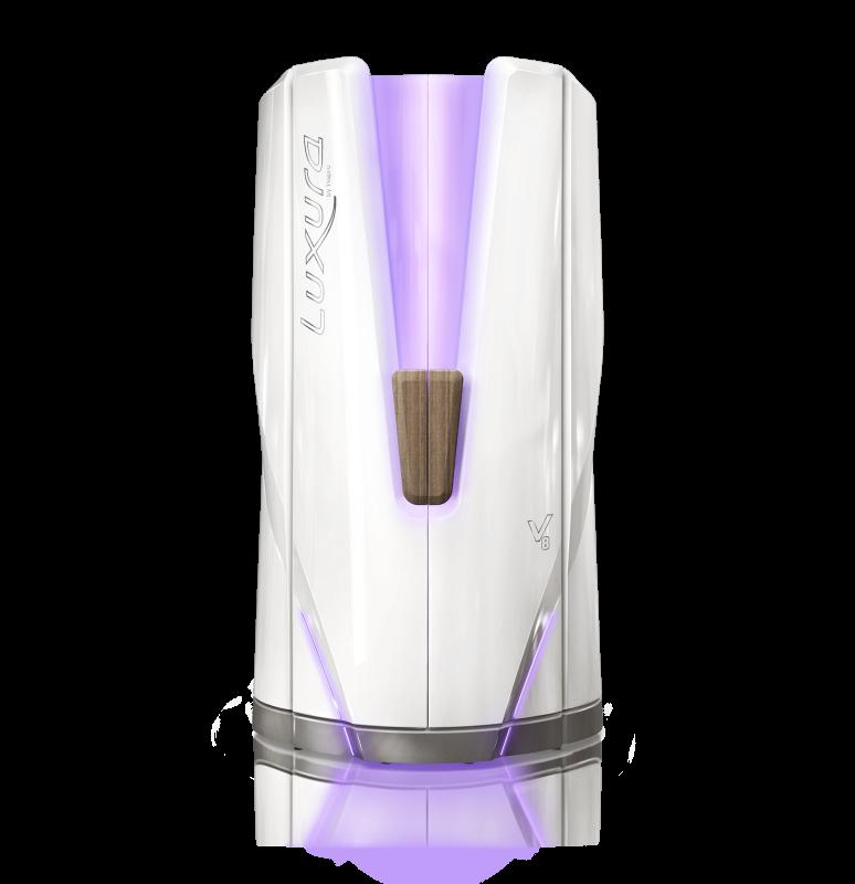 Вертикальный солярий Hapro Luxura V8 48 XL Ultra Intensive E Power (48 х 200Вт)<br>