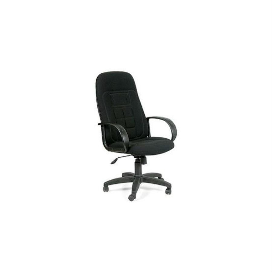 Кресло для руководителя CHAIRMAN 727 TW-11 чёрныйКресло CHAIRMAN CH-727 безусловный лидер продаж в сегменте кресел руководителя в тканевом исполнении. Его лидерские позиции обусловлены несколькими критериями: во-первых, не высокая стоимость кресла CHAIRMAN 727 позволяет отнести его в разряд &amp;laquo;демократичных&amp;raquo;, во-вторых, плотный поролон (25-40 кг/м3) и эргономика спинки позволяет снимать чрезмерное напряжение на позвоночник и гораздо меньше уставать спине.<br>