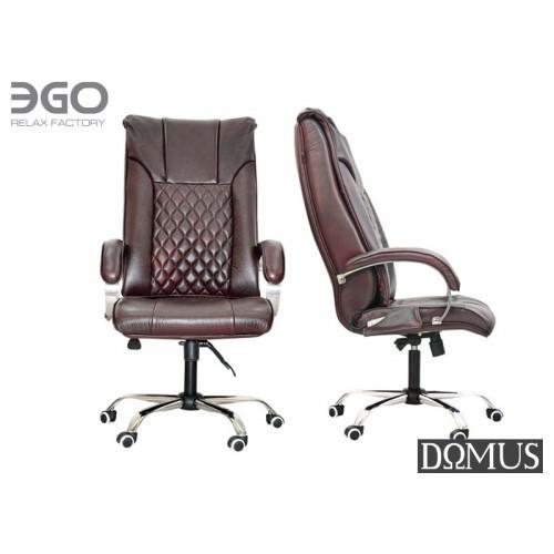 Офисное массажное кресло EGO Domus EG-1002 Premium Standart Бордо