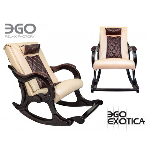 Офисное массажное кресло EGO Exotica EG-2002 Elite Standart шампань