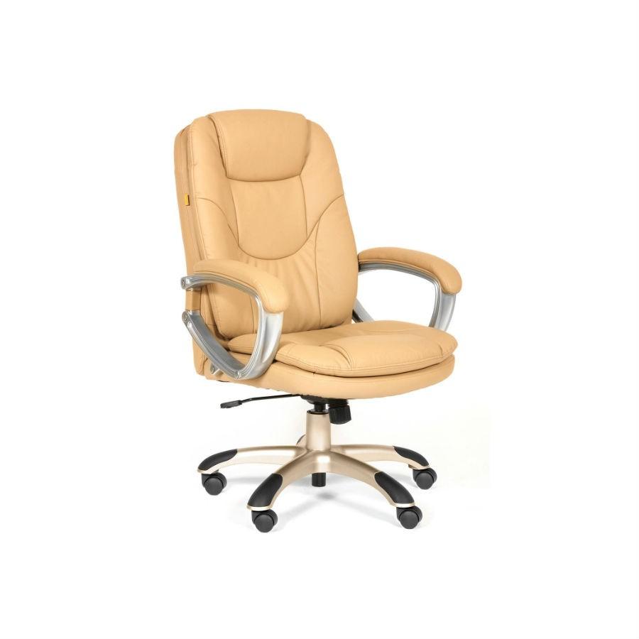 Кресло для руководителя CHAIRMAN 668 экопремиум бежевый
