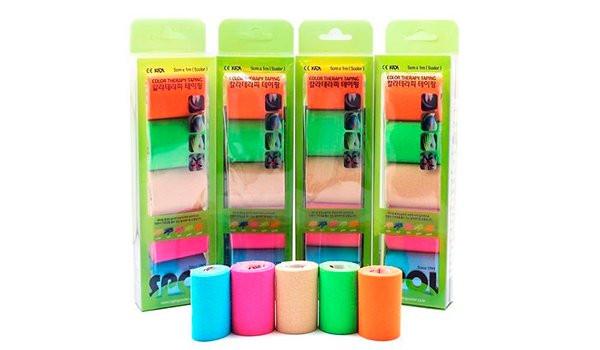 Кинезио тейп SPOL TAPE Kinematics Tex 5см х 1м 5 цветовКинезио тейп &amp;mdash; это эластичная лента из хлопка, на которую нанесён гипоаллергенный клей на акриловой основе. Применяется в спорте, реабилитации, массаже, фитнесе и т.д.&#13;<br>&#13;<br>Линейка стандартных кинезио тейпов SPOL TAPE обладает высокими эластическими характеристиками, имеет основу средней плотности с нанесённым на неё средним количеством клея.&#13;<br>&#13;<br>Стандартные кинезио тейпы подходят для использования в большинстве случаев.<br>