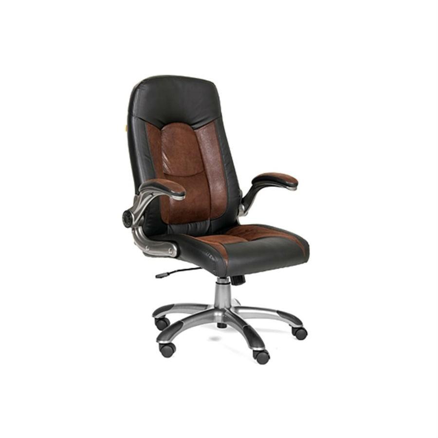 Кресло руководителя CHAIRMAN 439CHAIRMAN 439 - удобное и многофункциональное кресло для руководителя, с комбинированноей обивкой и специальной прошивкой подушек для обеспечения правильной поддержки спины. Особенностью данной модели являются откидывающиеся назад подлокотники, которые создают дополнительное удобство при интенсивной эксплуатации кресла. Обивка кресла - кожа ЭКО. Экокожа - последнее достижение в технологиях производства обивочных тканей.<br>