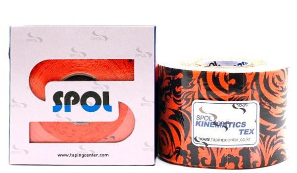 Кинезио тейп SPOL TAPE Tatoo Kinematics Tex 5см х 5м оранжевыйКинезио тейп &amp;mdash; это эластичная лента из хлопка, на которую нанесён гипоаллергенный клей на акриловой основе. Применяется в спорте, реабилитации, массаже, фитнесе и т.д.&#13;<br>&#13;<br>Линейка Тату кинезио тейпов SPOL TAPE обладает самыми высокими клеящими характеристиками и самой плотной основой из всех кинезио тейпов SPOL TAPE.&#13;<br>&#13;<br>Благодаря этим параметрам, Тату кинезио тейпы идеально подойдут при необходимости фиксации и недопущения патологических движений, например при травмах суставов.<br>