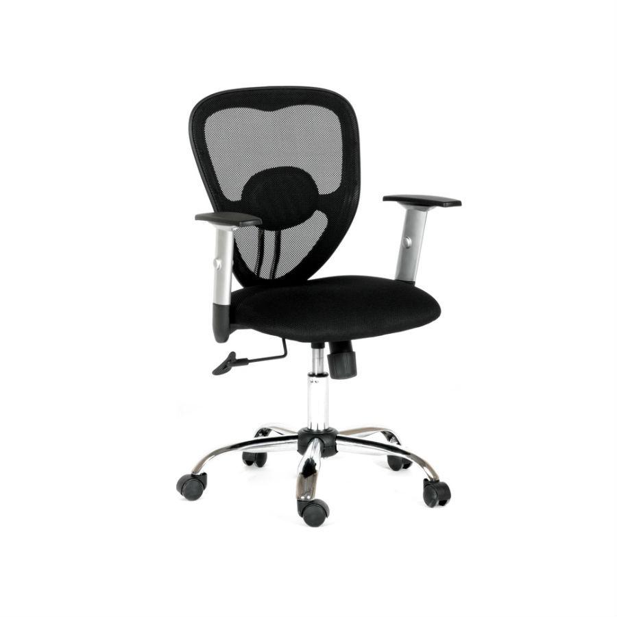 Офисное кресло Chairman 451 TW-11 чёрныйОптимальный вариант для организации рабочего места в офисе. Эргономичная форма кресла с лёгкостью подстроится под любую комплекцию пользователя. При необходимости высоту сиденья можно отрегулировать и зафиксировать в нужном положении. Для обивки кресла используют современный материал - акрил. Лёгкий дышащий полимер, который обеспечит оптимальную поддержку. Хромированная крестовина придаёт креслу лаконичный внешний вид. Прекрасно впишется в любой интерьер.<br>