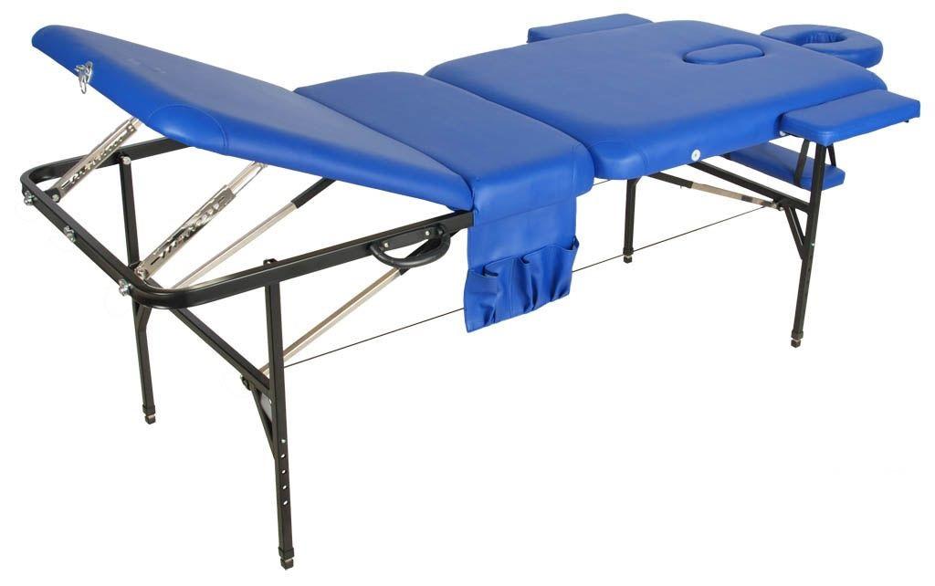 Складной массажный стол Med-Mos JFST02 new Синий