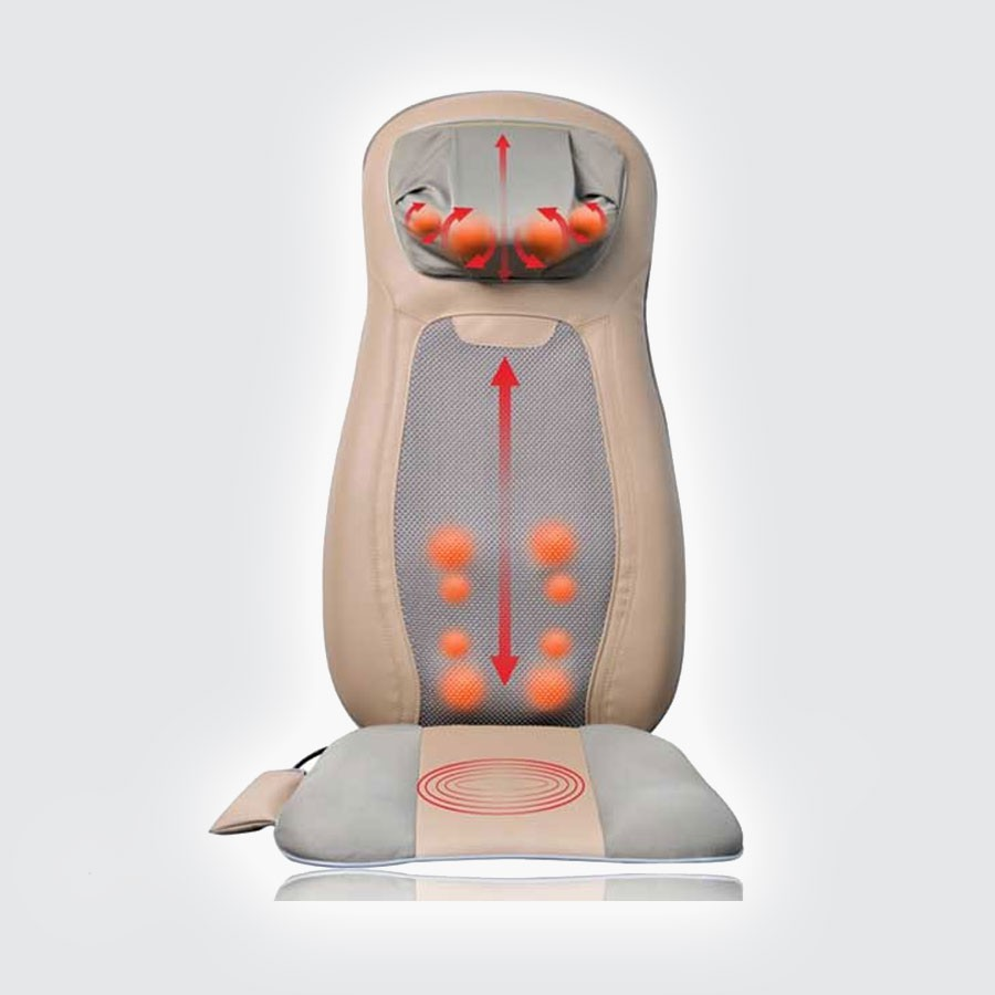 Массажная накидка Hansun HS612Массаж Шиатцу это разновидность японского точечного воздействия, дословно означающий Давление Пальцами. Основное назначение Шиатцу массажа это стимуляция акупунктурных точек и нормализация физического и эмоционального состояния организма. Ежедневные сеансы Шиацу массажа укрепят здоровье и иммунитет, но позволить себе личного массажиста могут не многие. В этом случае поможет массажная накидка HANSUN HS612 с Шиатцу массажем спины, плеч и шеи.<br>