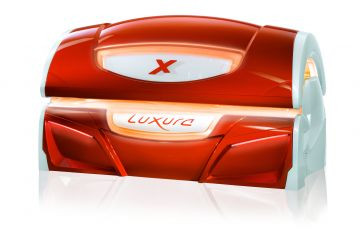 Cолярий горизонтальный Hapro Luxura X7 II 42 Sli High Intensive огн.тераккот