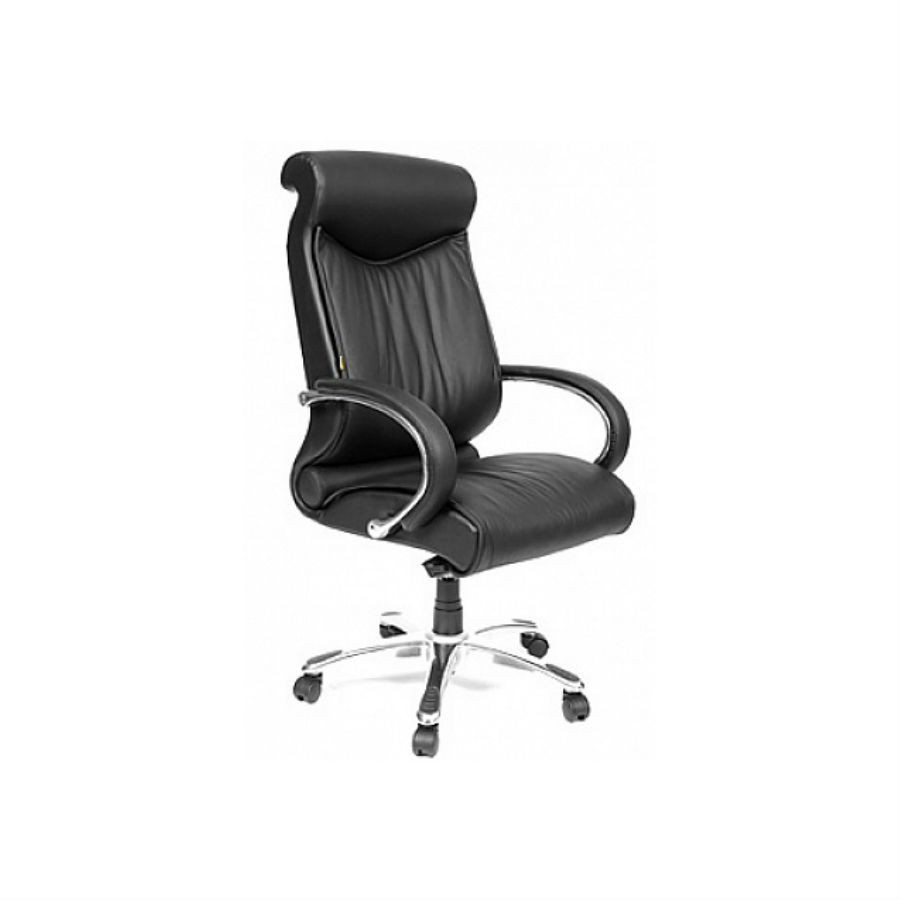 Кресла для руководителя CHAIRMAN 420 чёрная кожа