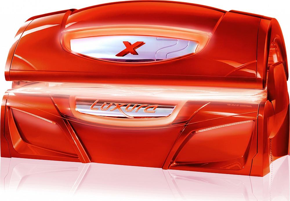 Cолярий горизонтальный Hapro Luxura X7 II 42 Sli High Intensive терракот