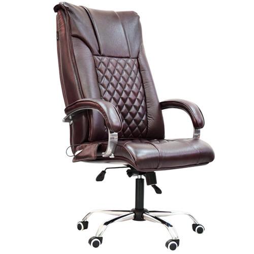 Офисное массажное кресло EGO Domus EG-1002 Elite Standart Бордо