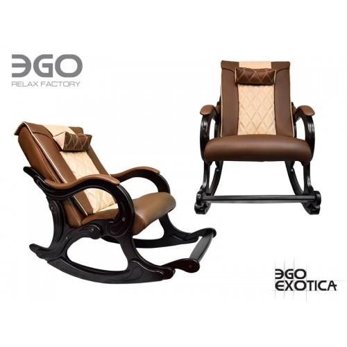 Офисное массажное кресло EGO Exotica EG-2002 LUX Standart карамель