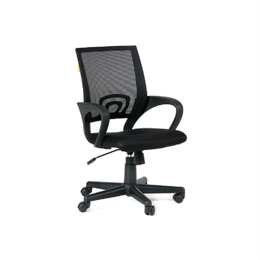 Офисное кресло Chairman 696 TW-01 чёрныйОфисные кресла серии Chairman 696 оценят в первую очередь представительницы прекрасного пола за яркий стильный дизайн и многообразие расцветок. При кажущейся лёгкости, конструкция кресла достаточно надёжна, способна выдерживать нагрузку до 100 кг. А дополнения в виде ручной настойки параметров кресла сделают его незаменимым для работы в офисе. Спинка, обтянутая&amp;nbsp;сетчатым&amp;nbsp;акрилом&amp;nbsp;обеспечит наиболее&amp;nbsp;комфортное положение в течение всего рабочего дня.<br>