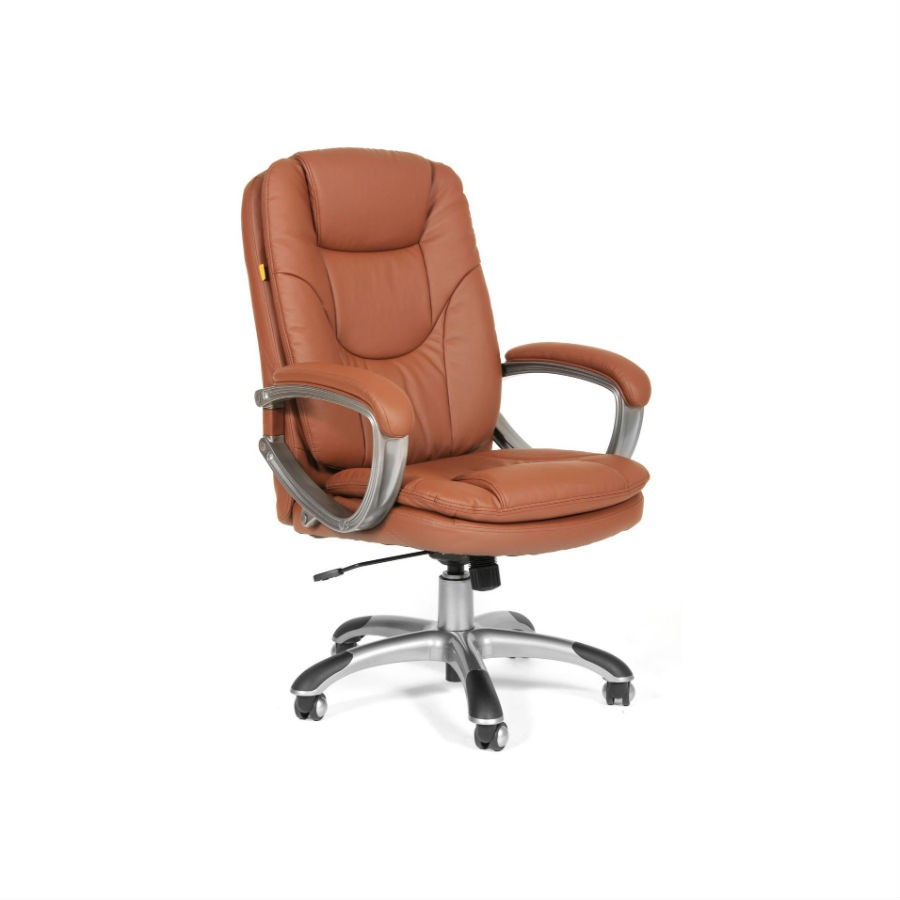 Кресло для руководителя CHAIRMAN 668 экопремиум коричневыйКресло CHAIRMAN 668 имеет спинку, снимающую значительную часть нагрузки и распределяющую давление. Вы хотите перестать испытывать дискомфорт, а также боли в конце рабочего дня? Тогда кресло станет отличным выбором в подобной ситуации. Подлокотники заметно шире, чем у обычных изделий данного типа. Это позволяет комфортно расположить руки, без вероятности их соскальзывания. Дополнительно, подлокотники имеют мягкую обивку их кожи.<br>