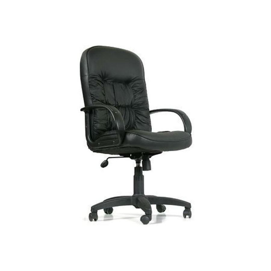 Кресло для руководителя CHAIRMAN 416 чёрный глянец