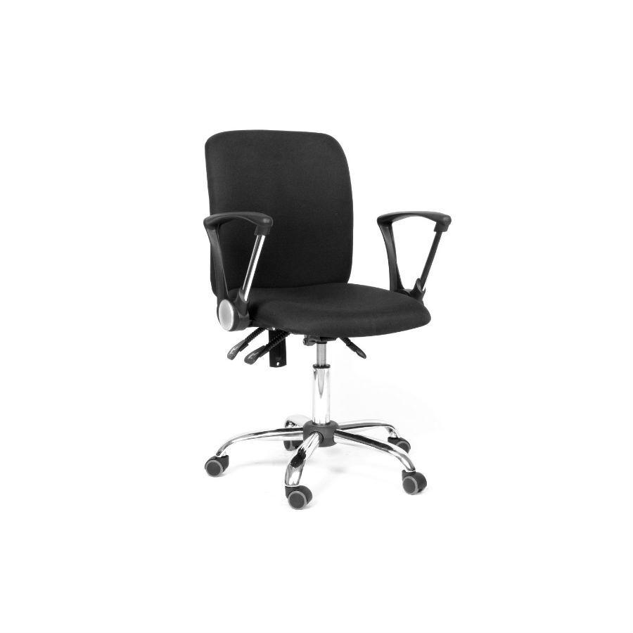 Офисное кресло Chairman 9801 15-13 серый хромКресла коллекции Chairman 9801 станут отличным дополнением любого офисного помещения. Строгий дизайн и благородные расцветки прекрасно подойдут под любой стиль интерьера. Кресла обиты тканью, которая устойчива к истиранию и не требует дополнительного ухода. Эргономика кресла обеспечит оптимальную посадку и комфорт. При необходимости кресло можно настроить&amp;nbsp;под индивидуальные параметры. Крестовина с колёсиками для обеспечения максимального комфорта.<br>