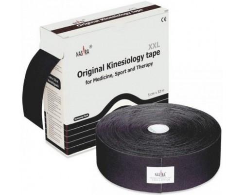 Кинезио Тейп Nasara Kinesiology 5см х 32м черный<br>