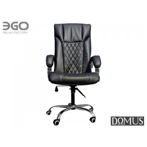 Офисное массажное кресло EGO Domus EG-1002 Premium Standart Антрацит<br>