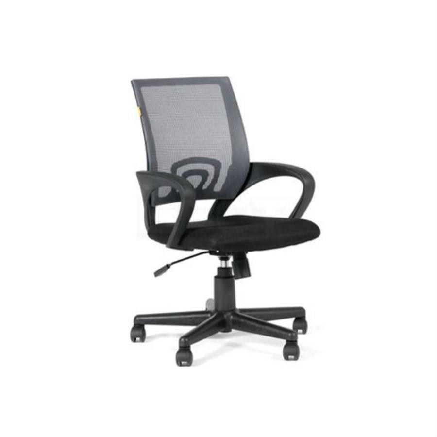 Офисное кресло Chairman 696 DW63 т.-серыйОфисные кресла серии Chairman 696 оценят в первую очередь представительницы прекрасного пола за яркий стильный дизайн и многообразие расцветок. При кажущейся лёгкости, конструкция кресла достаточно надёжна, способна выдерживать нагрузку до 100 кг. А дополнения в виде ручной настойки параметров кресла сделают его незаменимым для работы в офисе. Спинка, обтянутая&amp;nbsp;сетчатым&amp;nbsp;акрилом&amp;nbsp;обеспечит наиболее&amp;nbsp;комфортное положение в течение всего рабочего дня.<br>