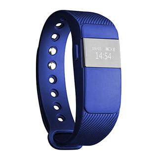 Фитнес-браслет US Medica CardioFIT черный/синий
