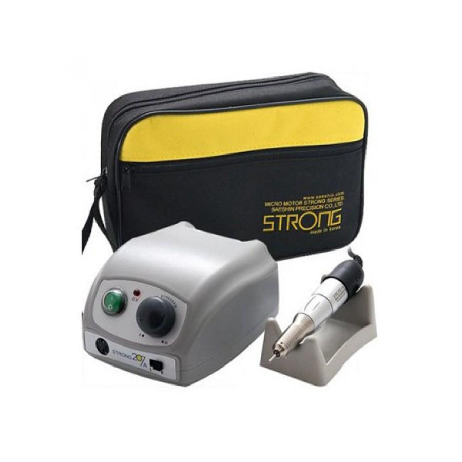 Аппарат для маникюра Strong 207A/120 (без педали с сумкой)<br>