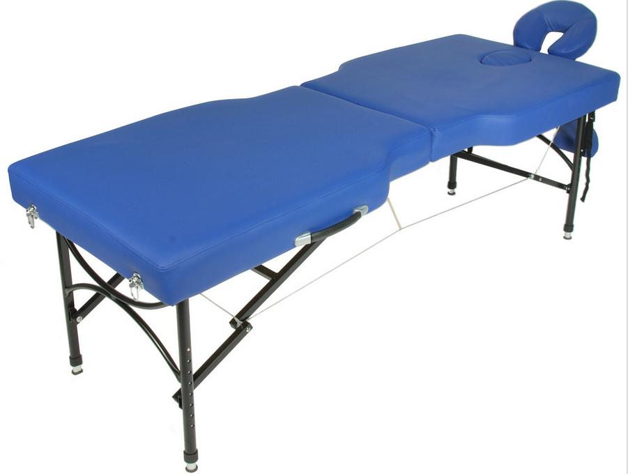 Складной массажный стол Med-Mos JFAL02 тип 6Двухсекционный складной массажный стол JFAL02 тип 6 является современным оборудованием для массажа в стационарных и выездных условиях. Благодаря складной конструкции и легкому весу модель пользуется спросом в первую очередь у профессионалов выездного массажа.&#13;<br>&#13;<br>Рама стола изготовлена из алюминия, обивка из прочного материала винил-люкс, наполнение из поролона толщиной 6 см. Ножки изделия регулируются по высоте, что удобно при проведении массажа. Модель рассчитана на нагрузку до 240 кг.<br>