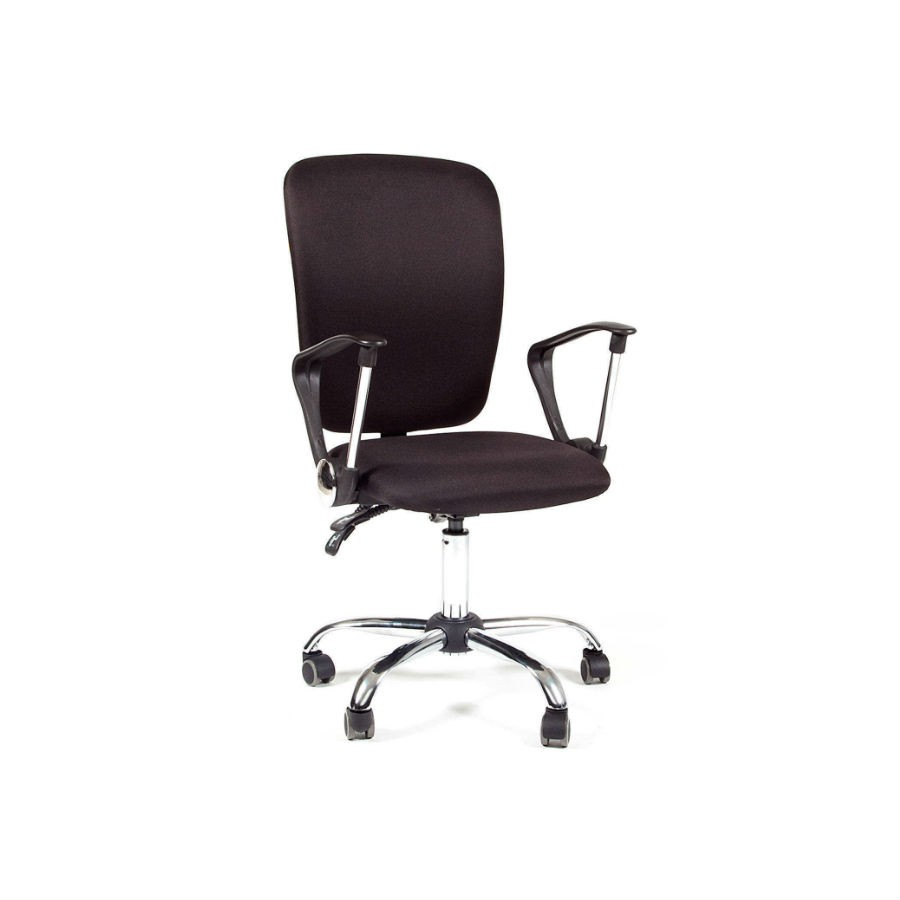 Офисное кресло Chairman 9801 15-21 чёрный хром N-AКресла коллекции Chairman 9801 станут отличным дополнением любого офисного помещения. Строгий дизайн и благородные расцветки прекрасно подойдут под любой стиль интерьера. Кресла обиты тканью, которая устойчива к истиранию и не требует дополнительного ухода. Эргономика кресла обеспечит оптимальную посадку и комфорт. При необходимости кресло можно настроить&amp;nbsp;под индивидуальные параметры. Крестовина с колёсиками для обеспечения максимального комфорта.<br>