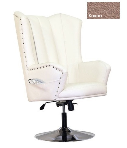 Массажное кресло EGO Royal Song какао от Relax-market