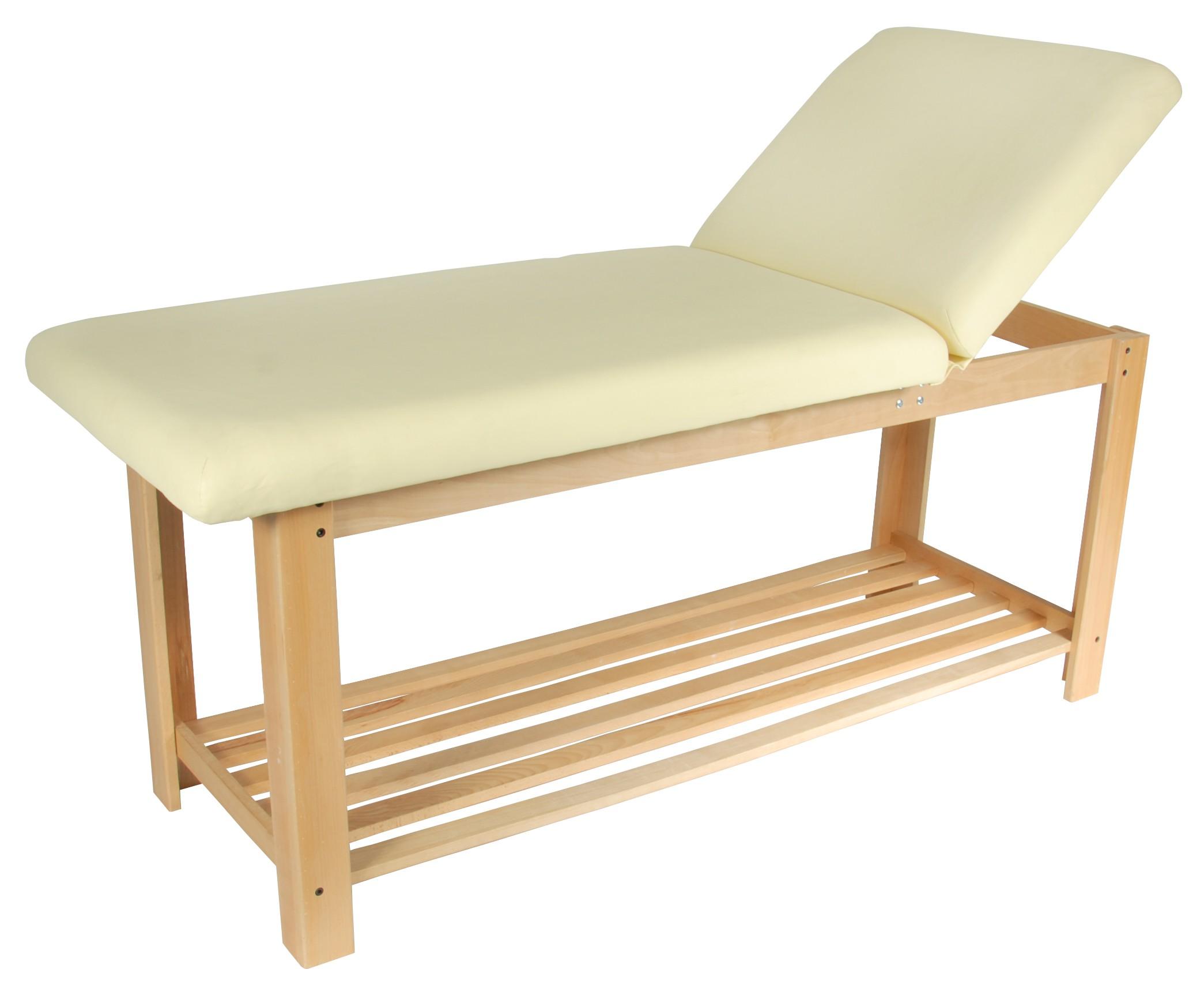 Стационарный массажный стол Med-Mos FIX-0В кремовыйПрочная конструкция, изысканный дизайн, функциональность. Стол подходит для всех видов массажа и SPA - процедур.<br>