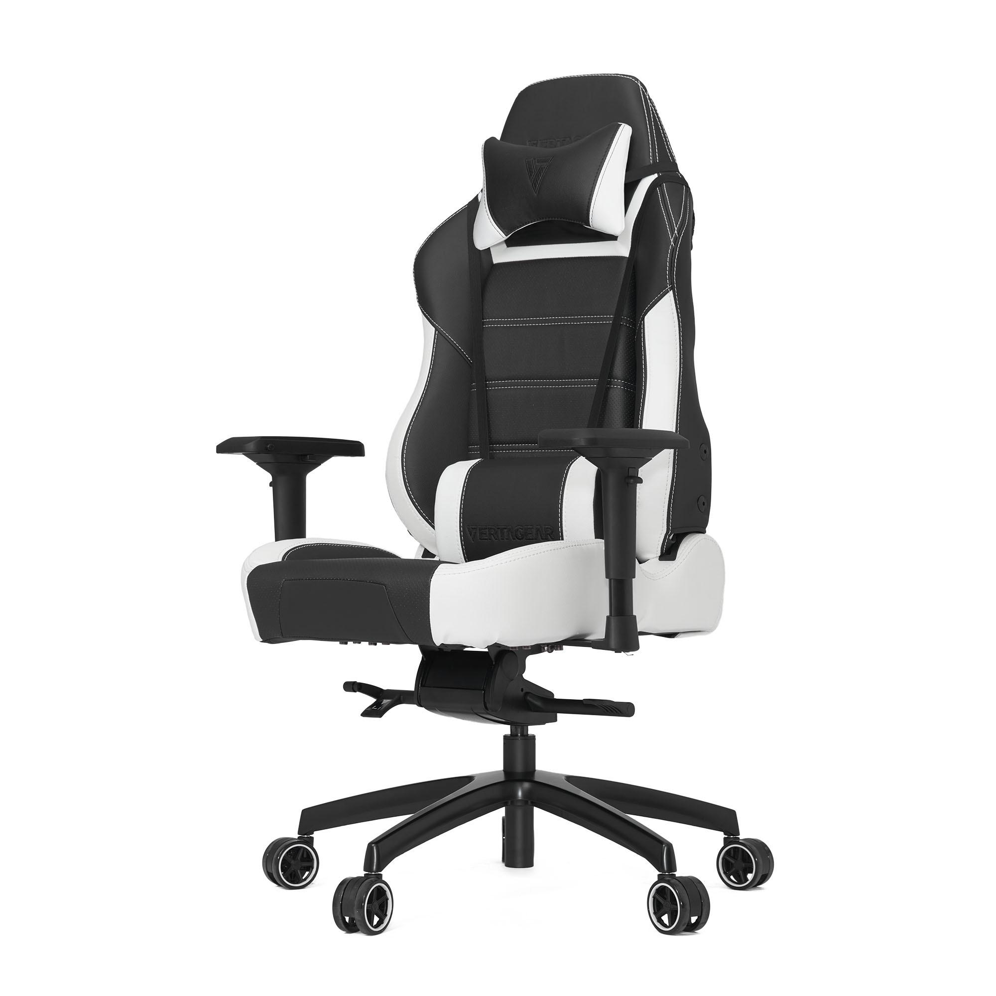 Профессиональное киберспортивное кресло Vertagear PL6000 черно-белоеVertagear PL-6000 игровое кресло, сфокусированное на предоставление дополнительного комфорта с более высоким сиденьем и подголовником для поддержки более крупных и широких пользователей.&#13;<br>&#13;<br>Vertagear PL-6000 поддерживают пользователей вплоть до 200 кг в весе. используя инновационую сверхмощную раму основания с возможностью легкого доступа к механизму наклона / качания.<br>