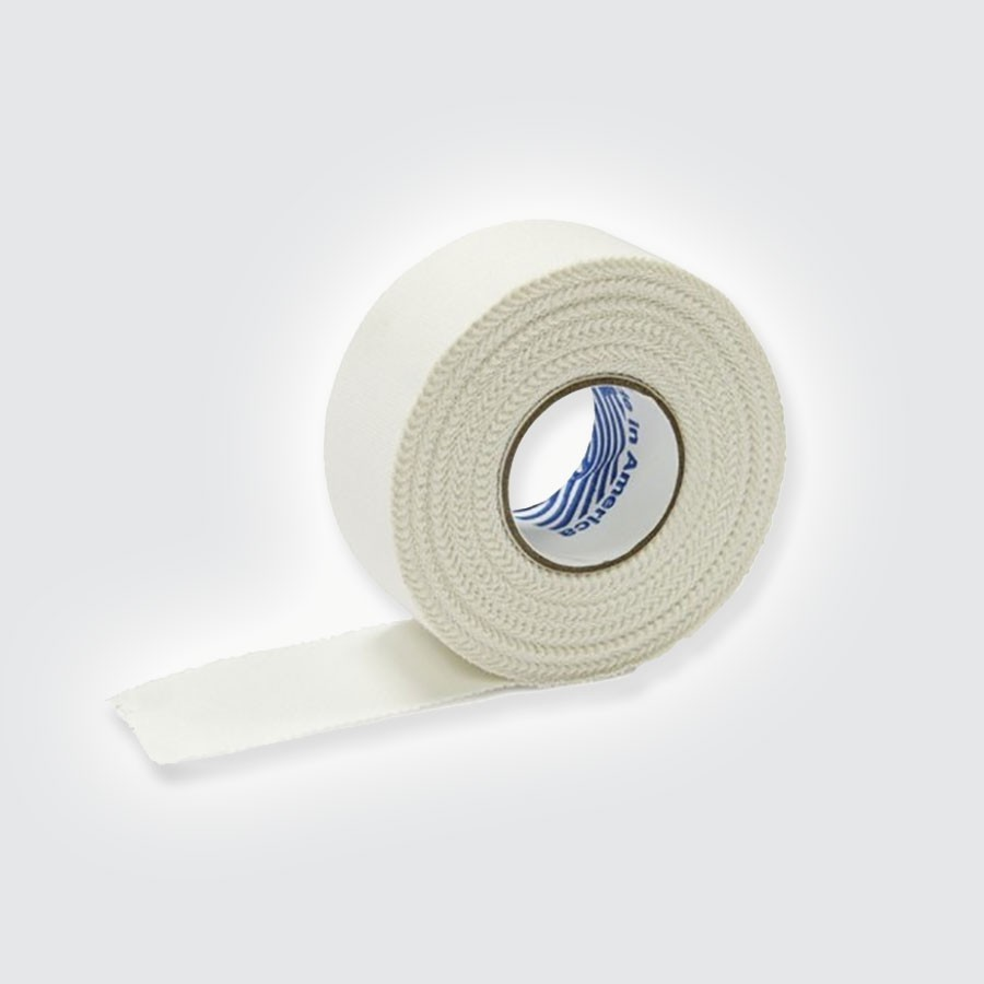 Тейп атлетический Rehab Medic Athletic Tape, белый, 32 рулонаАтлетический тейп из 100 хлопка.<br>