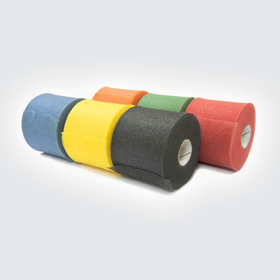 Подкладочный тейп Rehab Medic Pretape, цветной, 12 штук красныйПодкладочный тейп из тонкой пены предназначен для защиты кожи и предотвращения раздражений, вызванных повторным использованием повязки.<br>