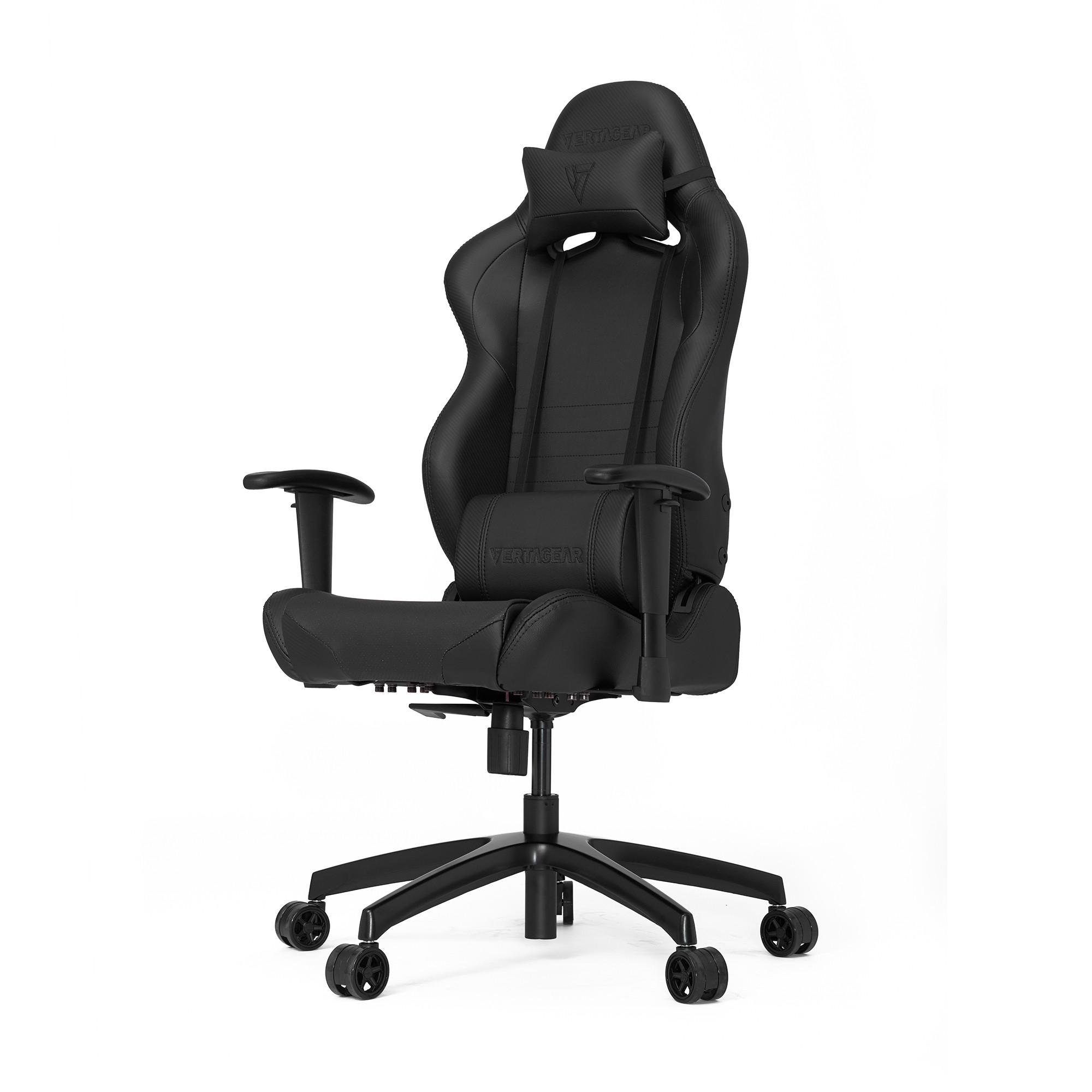 Профессиональное киберспортивное кресло Vertagear SL2000 черныйНабивка в SL-2000 сделанная из высокоплотной эластичной пены, которая добавляет отличную поддержку и удобство в положении сидя.&#13;<br>&#13;<br>Элегантное исполнение модели SL-2000 сделано из высококачественной PVC кожи, которая делает покрытие невероятно прочным и дает креслу роскошный вид. Этот материал легко чистить и поддерживать в хорошем состоянии, благодаря цветной прошивке и водозащитным характеристикам.<br>