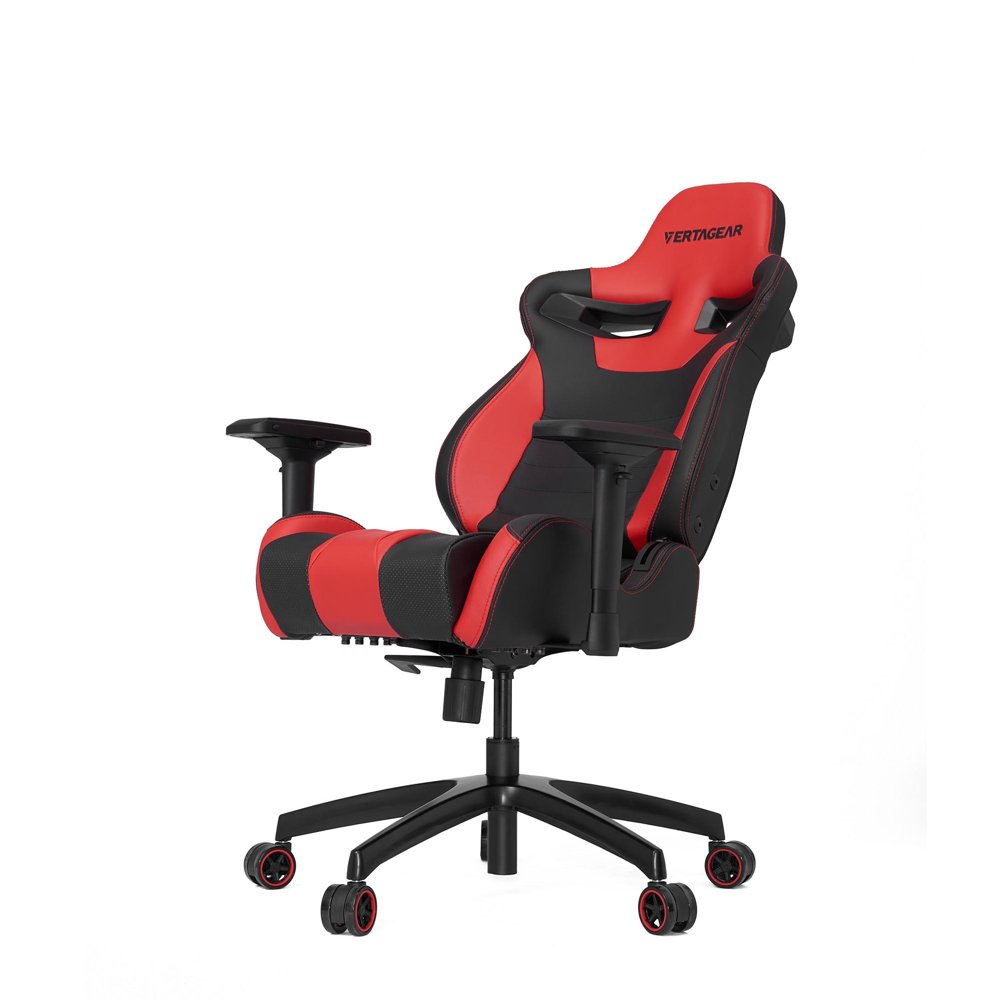Профессиональное киберспортивное кресло Vertagear SL4000 черный/красныйНабивка в SL-4000 сделанная из высокоплотной эластичной пены, которая добавляет отличную поддержку и удобство в положении сидя.&#13;<br>&#13;<br>Элегантное исполнение модели SL-4000 сделано из высококачественной PVC кожи, которая делает покрытие невероятно прочным и дает креслу роскошный вид. Этот материал легко чистить и поддерживать в хорошем состоянии, благодаря цветной прошивке и водозащитным характеристикам.<br>