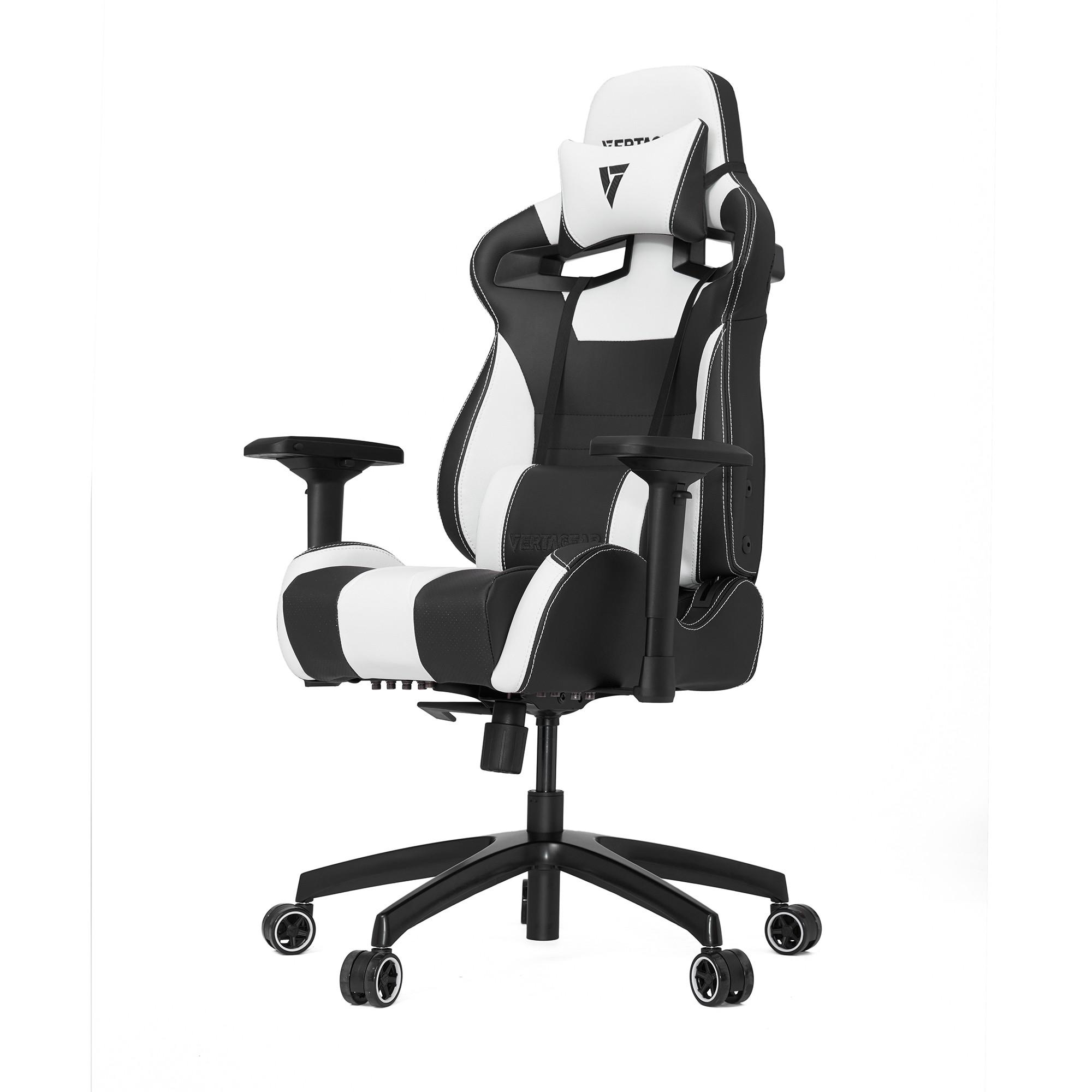 Профессиональное киберспортивное кресло Vertagear SL4000 черный/белыйНабивка в SL-4000 сделанная из высокоплотной эластичной пены, которая добавляет отличную поддержку и удобство в положении сидя.&#13;<br>&#13;<br>Элегантное исполнение модели SL-4000 сделано из высококачественной PVC кожи, которая делает покрытие невероятно прочным и дает креслу роскошный вид. Этот материал легко чистить и поддерживать в хорошем состоянии, благодаря цветной прошивке и водозащитным характеристикам.<br>