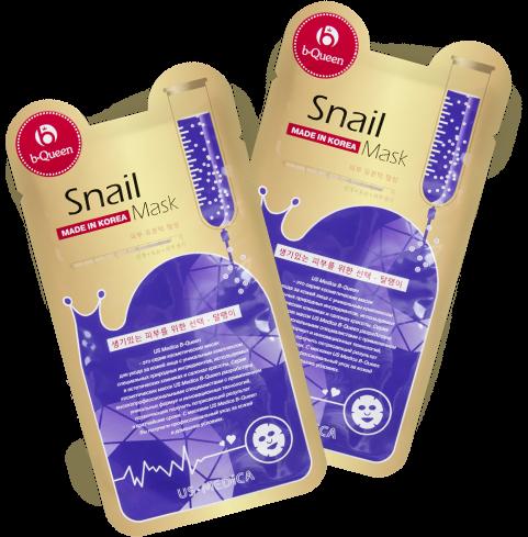 Маска для лица с экстрактом улитки Us Medica Snail Mask от Relax-market