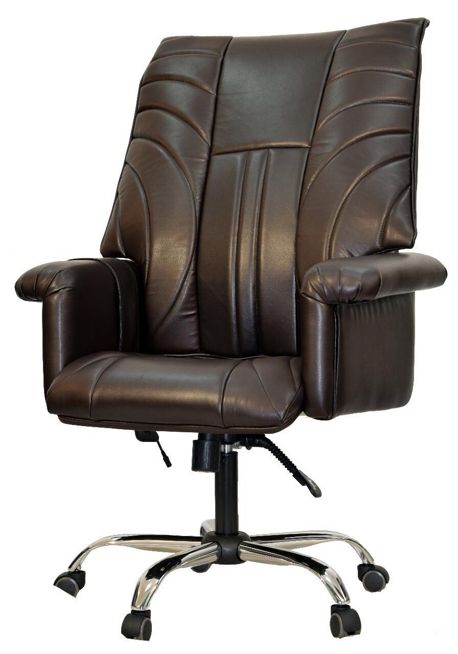 Офисное массажное кресло UK Magnat EG-1003 v3 LUX Standart - карамель