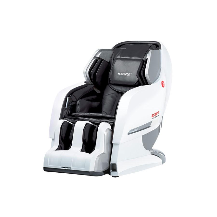 Массажное кресло Yamaguchi Axiom YA-6000 бело-черное от Relax-market