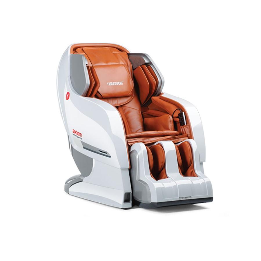 Массажное кресло Yamaguchi Axiom YA-6000 бело-рыжееРусифицированное меню !!!!&#13;<br>&#13;<br>Массажное кресло роскошного дизайна с феноменальным функционалом. Функция нулевой гравитации. Возможность управлять режимами работы со смартфона.&#13;<br>&#13;<br>AXIOM YA-6000 - это бесспорный флагман линейки роскошных массажных кресел YAMAGUCHI. Его эффектный дизайн покоряет с первого взгляда, а феноменальный функционал способен сотворить чудо, возрождая вас к жизни за считанные минуты.<br>