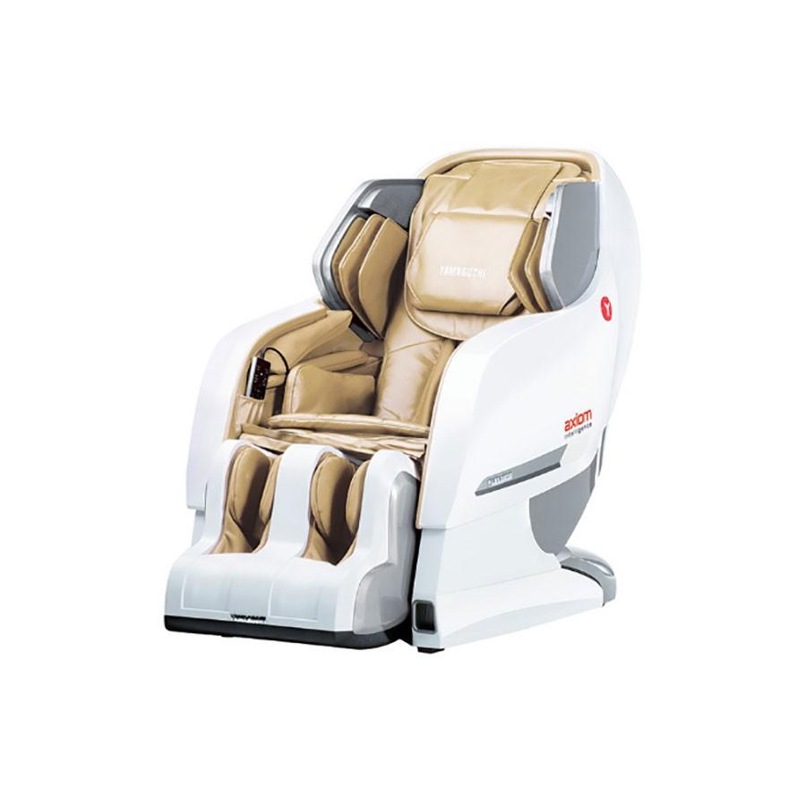 Массажное кресло Yamaguchi Axiom YA-6000 бело-бежевое