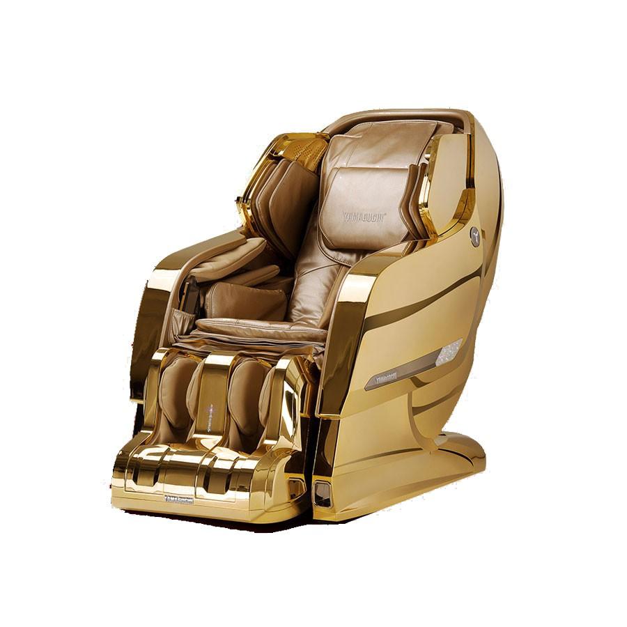 Массажное кресло Yamaguchi Axiom YA-6000 золотойМассажное кресло Yamaguchi Axiom Gold - истинное произведение искусства! Золотое покрытие 23 карата. Словно нежной драгоценной вуалью из золота 999 пробы покрыт корпус кресла. Идеально ровная сверкающая золотая поверхность притягивает взгляд. Бежево-золотая обивка и мягкие обтекаемые формы 38 воздушных подушек зазывают в свои нежные объятия. Стоит только раз погрузиться в него и больше уже не захочется его покидать, никогда! Ведь, лучшего кресла просто не существует.<br>