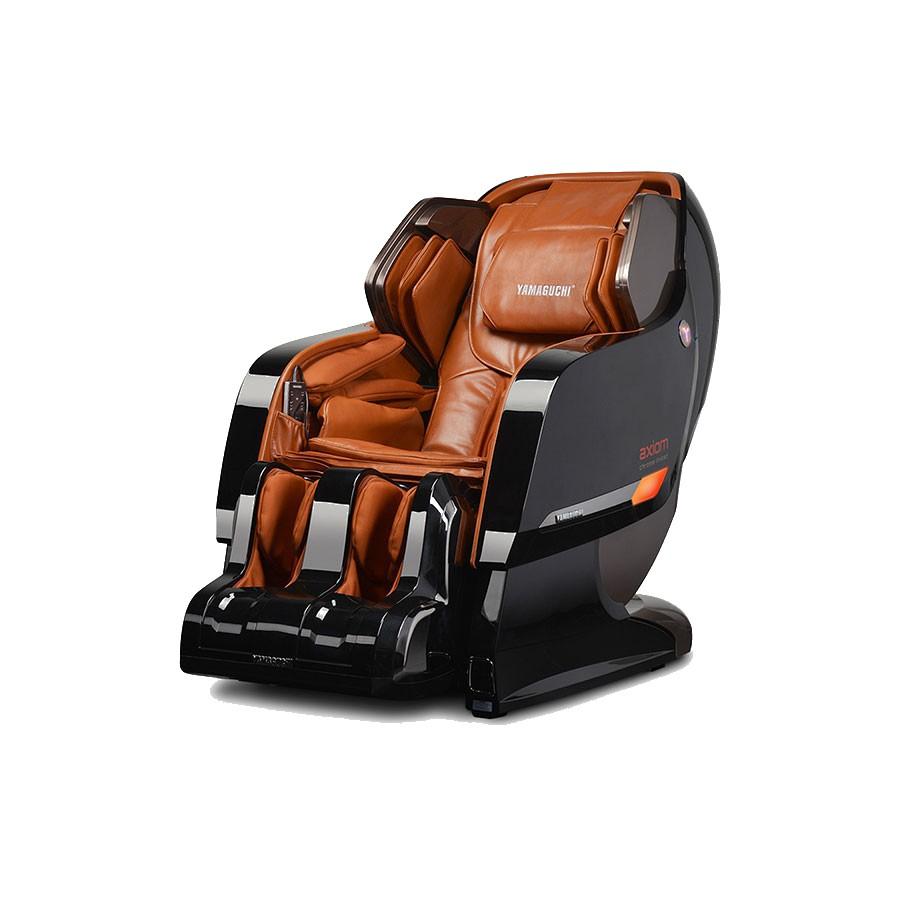 Массажное кресло Yamaguchi Axiom YA-6000 черно-рыжее<br>