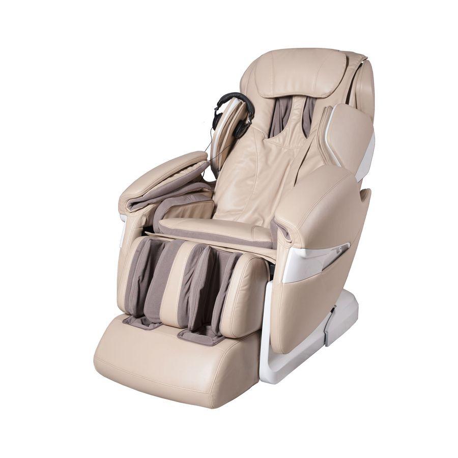 Массажное кресло iRest SL-A85-1 бело-бежевоеСовременное массажное кресло iRest SL-A85-1 осуществляет качественный комплексный массаж при помощи роликового массажного механизма, компрессионных подушек, положительный эффект от которых усиливается встроенной функцией ИК прогревания, так как разогретые мышцы более эластичные и лучше реагируют на массажное воздействие.<br>