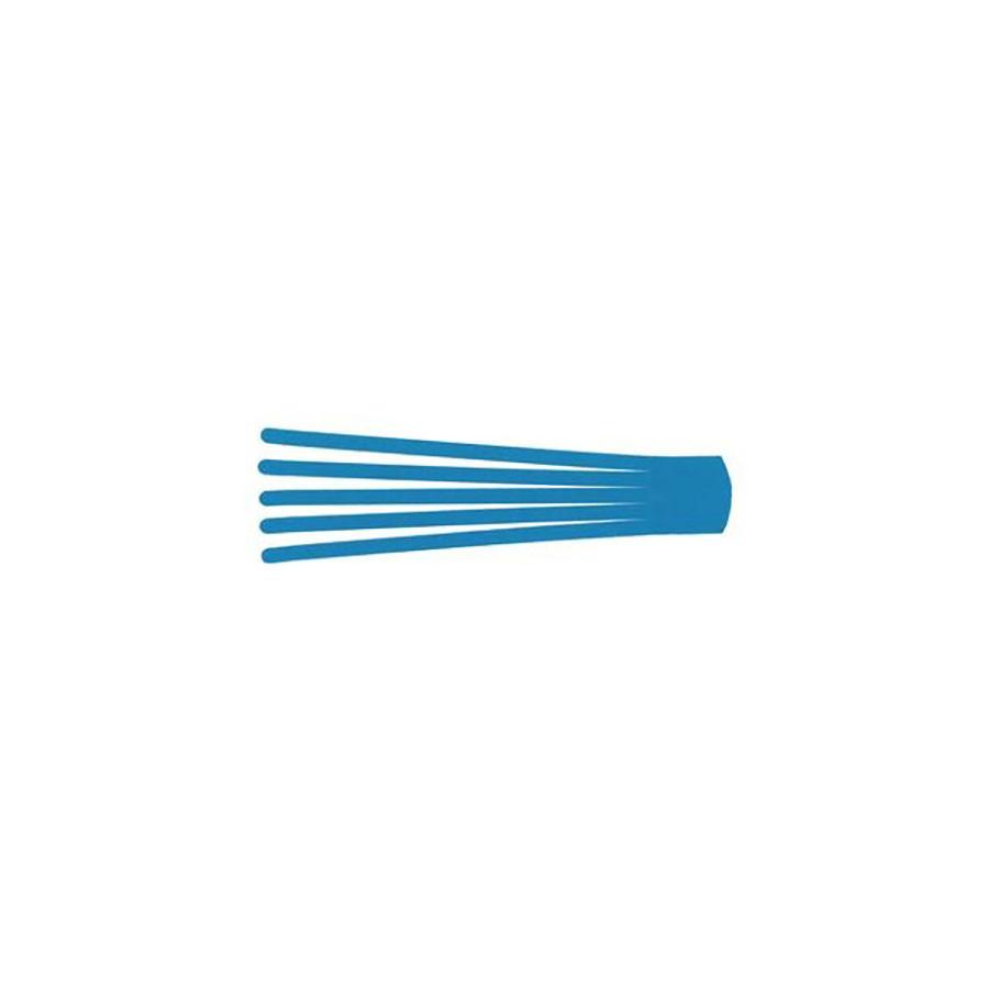 Кинезио тейп преднарезанный BB EDEMA STRIP 5 cм x 25 см голубойПреднарезанные кинезио тейпы подойдут тем, кто не хочет тратить врем на отрезание полосок необходимой длины от стандартных рулонов тейпов. В каждом упаковке 20 шт. нарезанных аппликаций Лимфа-тейп (лапша, как еще называт тот вид аппликаций) размером 5 см &amp;times; 25 см. Данный вид аппликаций кинезио тейпов используетс в основном дл лимфодренажа.<br>
