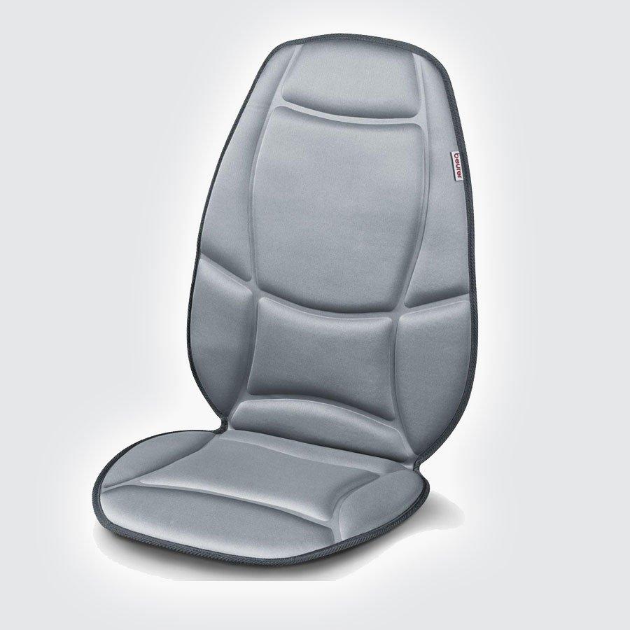 Массажная накидка Beurer MG158Благодаря этой массажной накидке Beurer mg158 Вы можете массировать спину и бедра в сидячем положении. Массаж осуществляется при помощи 5 вибрационных двигателей и имеет много вариантов настройки. Разложите накидку на сиденье, выберите нужную конфигурацию и получайте удовольствие от массажа. Массаж оказывает расслабляющее или стимулирующее действие на организм, эффективен для лечения защемления мышц, болей и усталости.<br>