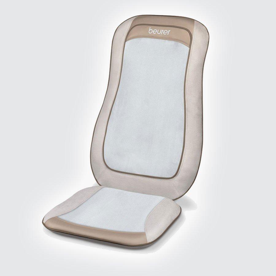 Массажная накидка Beurer MG210Массажная накидка шиацу Beurer MG 210 поможет снять стресс, скованность мышц спины, способствуя расслаблению после напряженного дня в офисе, тяжелой физической нагрузки и т.д. Массаж проводится в положении сидя. Шиацу &amp;mdash; это разновидность массажа тела, которая базируется на представлениях о традиционной китайской медицине. Массаж Шиацу способствует нормализации физического и эмоционального состояния организма человека, стимулируя его механизмы саморегуляции.<br>