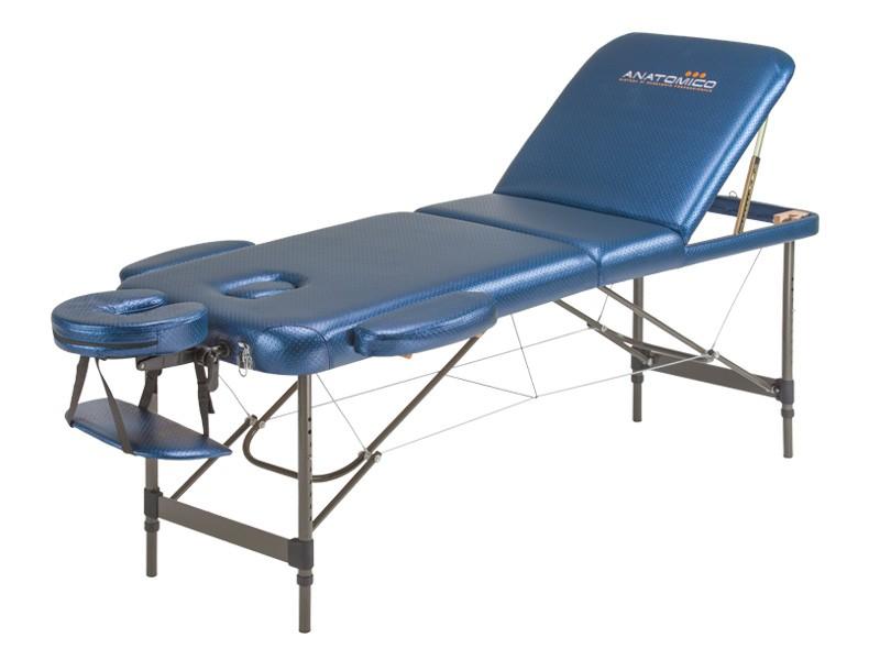 Массажный стол Anatomico BreezeМассажный стол Anatomico Breeze идеально подойдет не только для массажистов, но и для косметологов. Стол состоит из трех секций, одна из которых поднимается. В таком положении удобно проводить процедуры по лицу и массаж ног. Наклон секции можно регулировать по желанию.<br>