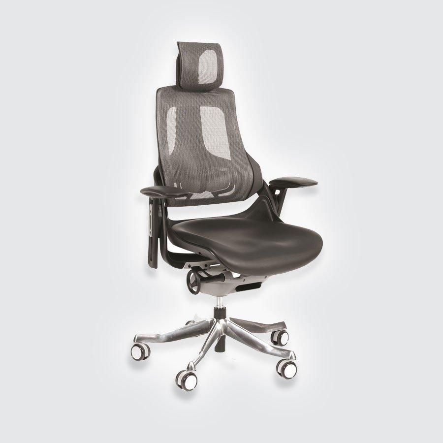 Кресло для руководителя CHAIRMAN 270 кожа чёрная
