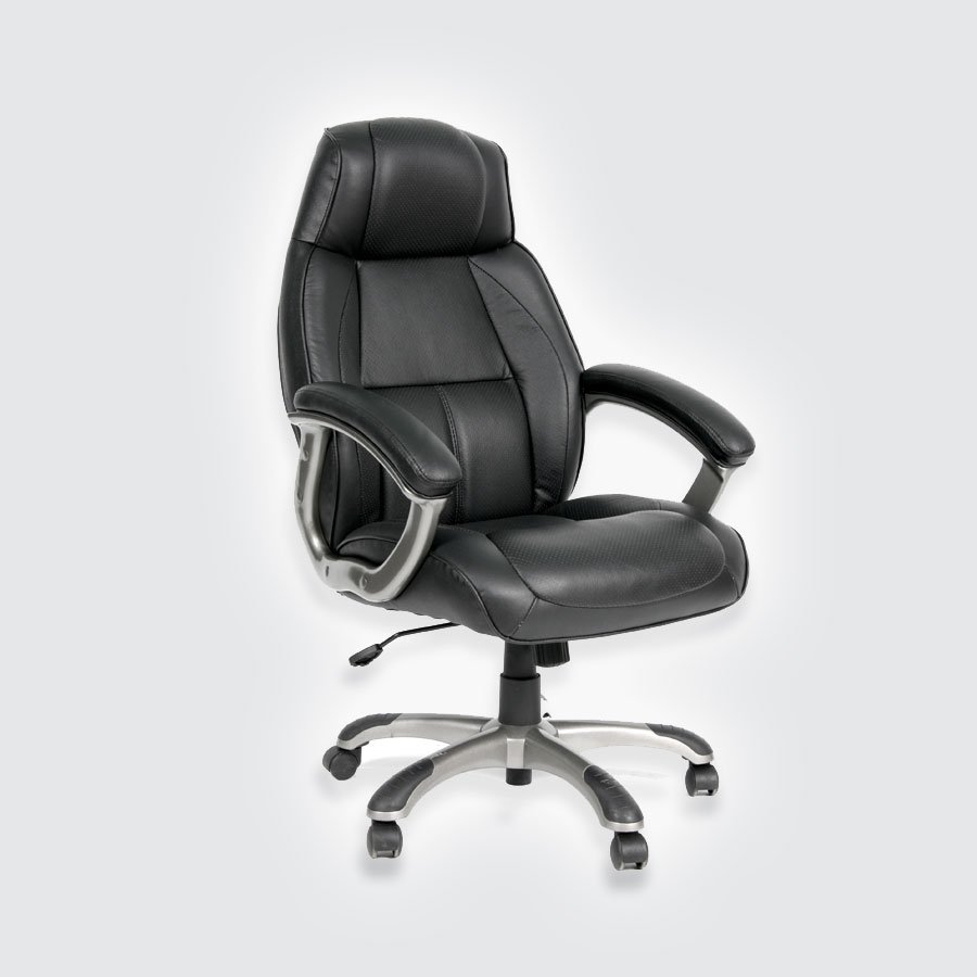 Кресла для руководителя CHAIRMAN 436 серая кожа