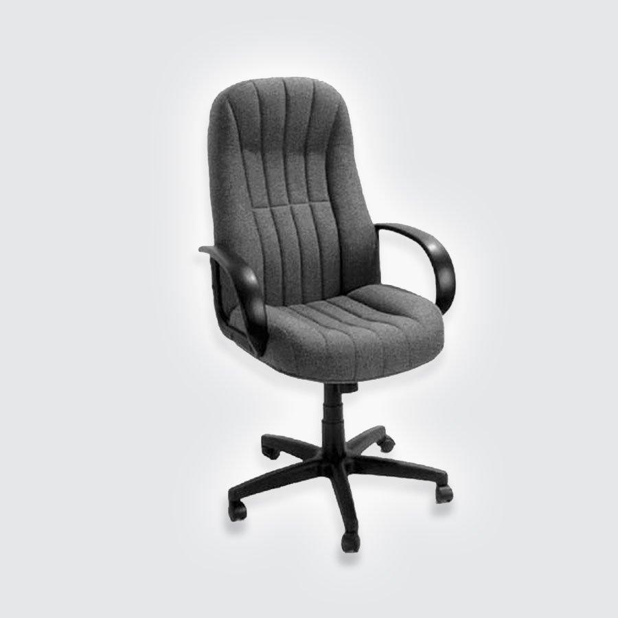 Кресла для руководителя CHAIRMAN 685 TW-12 серыйКресло CHAIRMAN 685 &amp;ndash; это модель, которая отлично подходит для длительной работы, сидя за ней, а также обеспечения высокого уровня комфортности. Дополнительно, изделие обладает представительским внешним видом. Кресло отличается широким сидением и высокой спинкой. Эти два элемента расположены друг относительно друга под углом, несколько превышающим стандартные для подобной ситуации 90 градусов. Таким образом, можно добиться снижения нагрузки на позвоночник.<br>